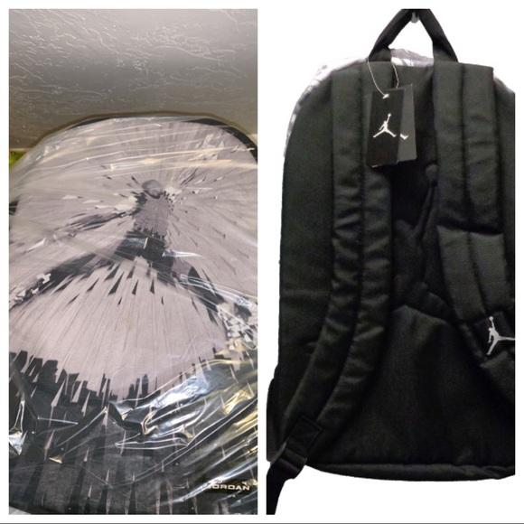 55cd945dd74 Nike Bags | Nwt Air Jordan Jumpman Backpack Greyblk | Poshmark